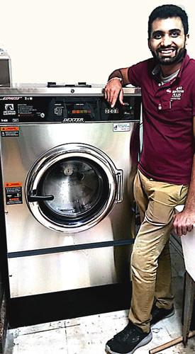 On-premise Commercial Laundry Equipment from Dexter for Hotels and Motels