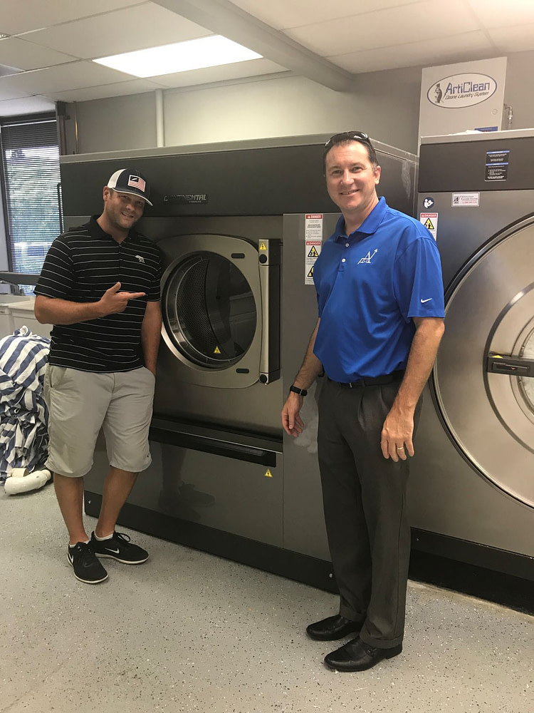Commercial Laundry and Ozone System in Gym