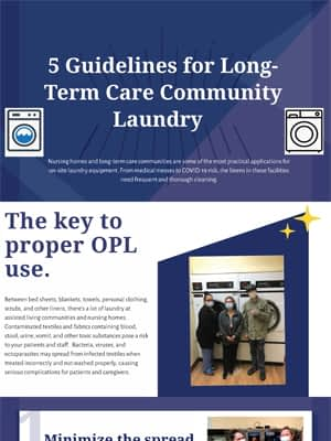 infographic- 5 guidelines for long-term care and nursing home communities 1