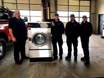 protecting fire fighters with commercial laundry equipment for fire departments