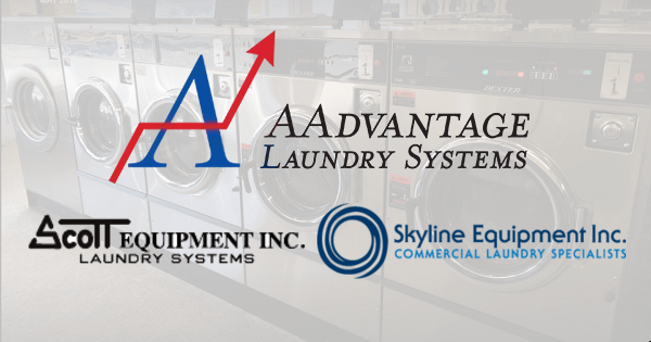 aadvantage laundry systems joins forces with scott equipment and skyline equipment to better serve customers