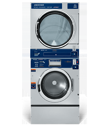 Dexter Vended T-750 Stack Washer Dryer Product Image