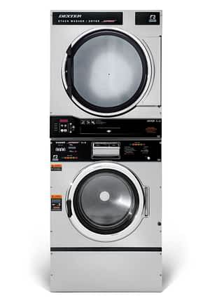 Dexter T-750 Washer Dryer Stack Product Image