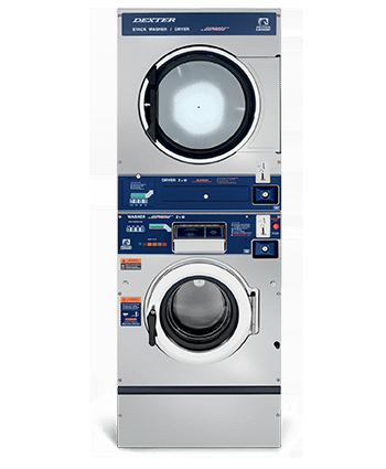 Dexter Vended T-350 Stack Washer Dryer Product Image