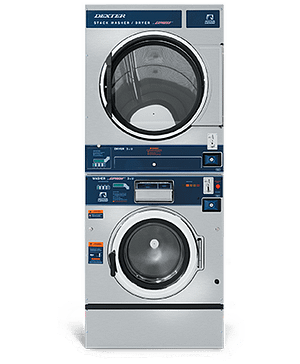 Dexter Vended T-450 Stack Washer Dryer Product Image